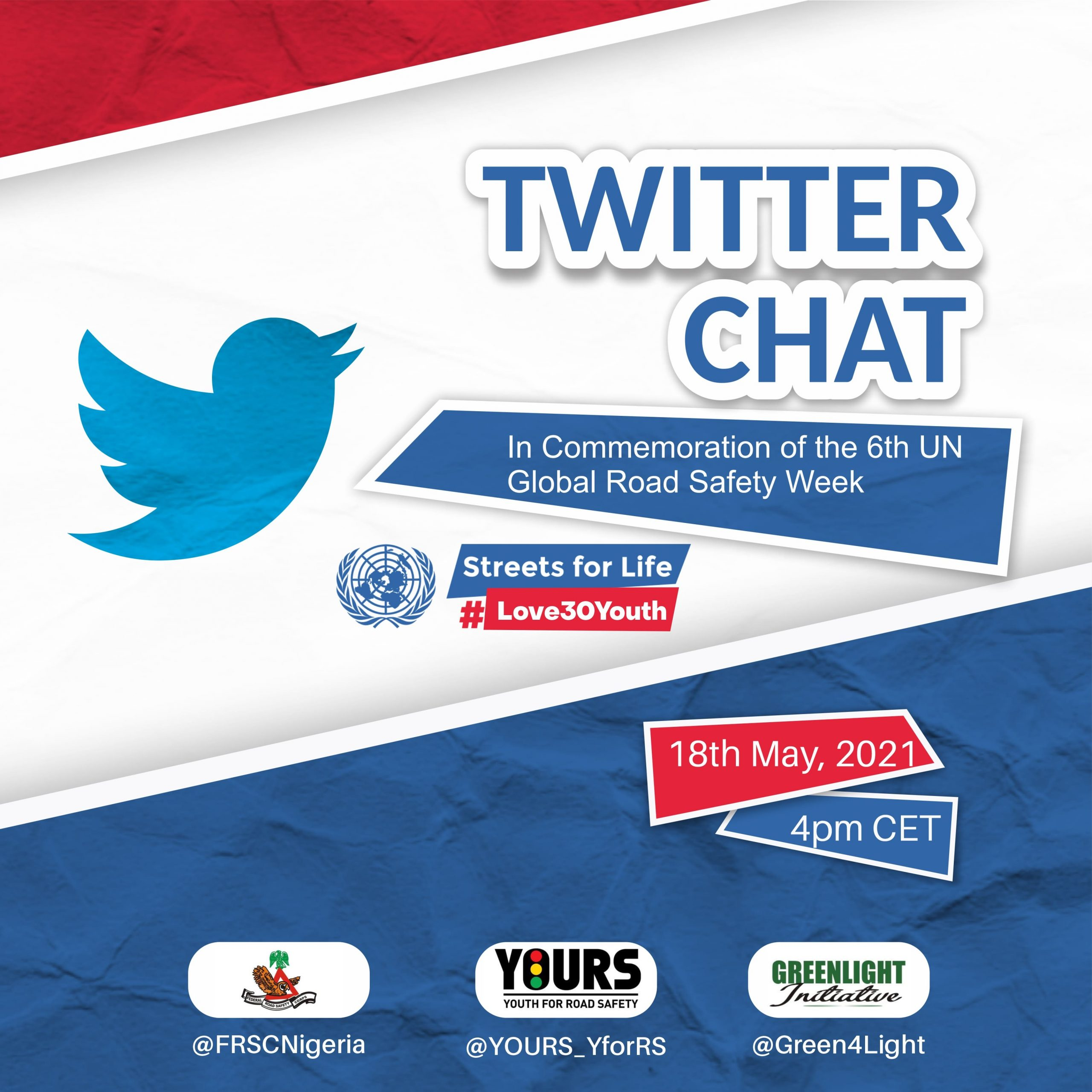 #Love30Youth Twitter Chat